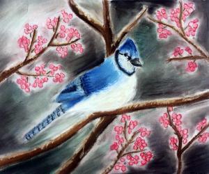 Bird-in-Tree-Art